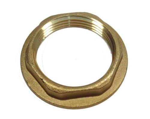 1-1/4 Inch BSP Brass Flanged Back Nut