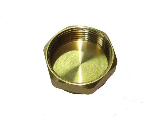 1-1/4 Inch BSP Brass Cap / Blank Nut