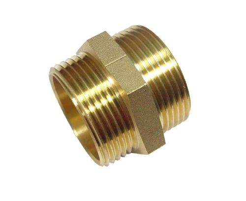 1-1/2 Inch BSP Brass Hex Nipple