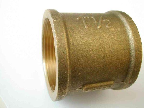 1 1 2 Inch Bsp Brass Socket Stevenson Plumbing