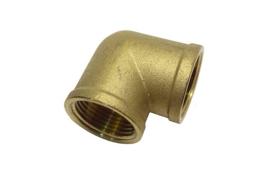 1 Inch BSP Brass Elbow | FxF Female x Female