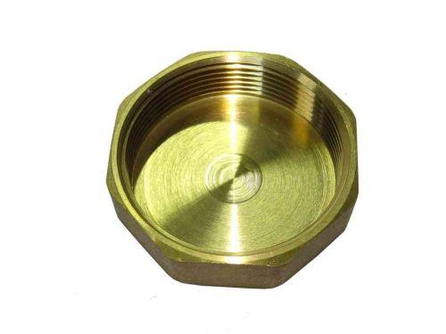 2 Inch BSP Brass Cap / Blank Nut