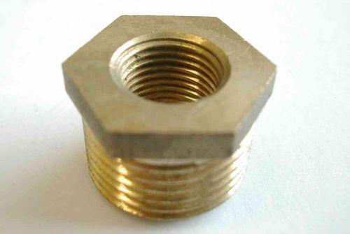 3/8 Inch x 1/8 Inch BSP Brass Hex Bush
