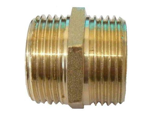 3/4 Inch BSP Brass Hex Nipple