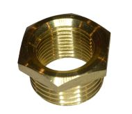 "1/2"" x 3/8"" BSP Brass Hex Reducing Bush"