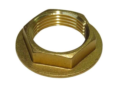 1 Inch BSP Brass Flanged Back Nut