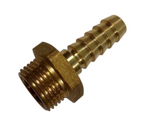 "3/8"" BSP Brass Hose Tail Connector"