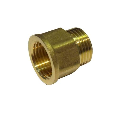 "1/2"" BSP Male to Female Brass Tap Thread Extension"