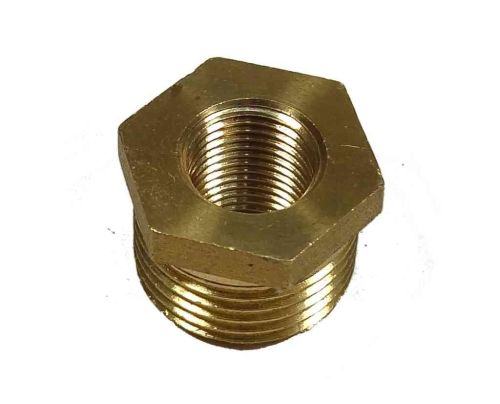 3/8 Inch x 1/8 Inch BSP Brass Hex Bush