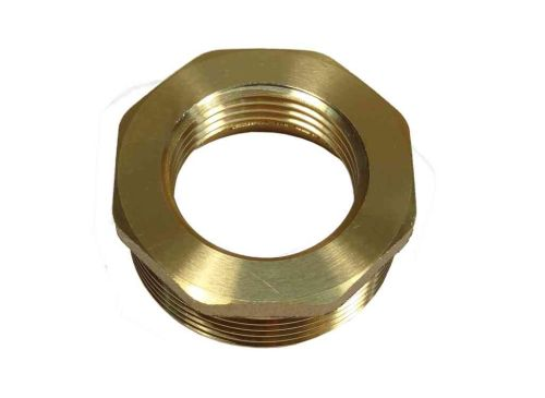 "1-1/2"" to 1"" BSP Brass Reducing Bush"