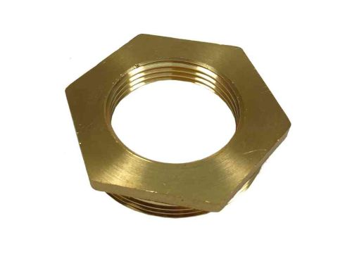 2 Inch x 1-1/4 Inch BSP Brass Hex Bush