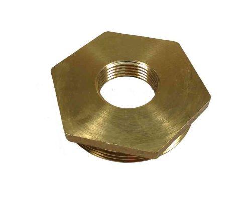 "2"" to 3/4"" BSP Brass Reducing Hexagon Bush"