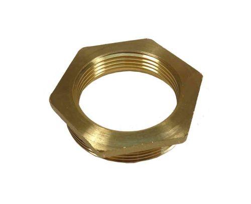 """2"""" to 1-1/2"""" BSP Brass Reducing HexagonBush"""