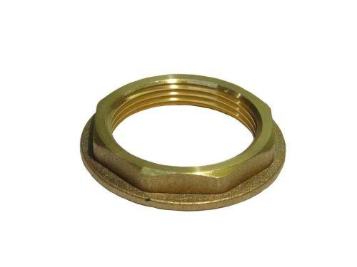 "Brass Flanged Back-nut 1-1/2"" BSP"