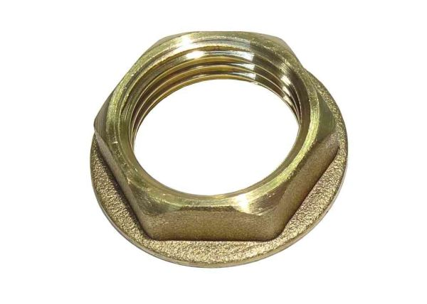 1 2 Inch Bsp Brass Flanged Back Nut Stevenson Plumbing