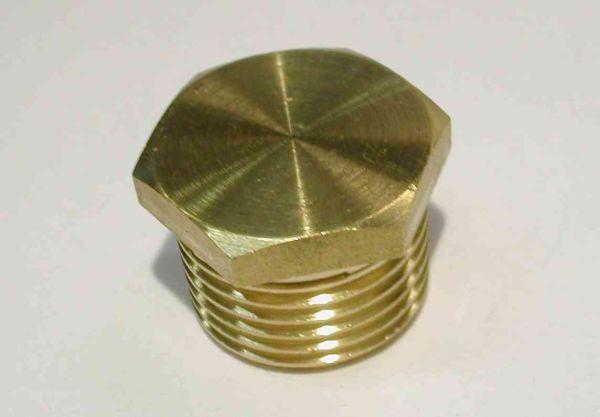 1 2 Inch Bsp Brass Plug Stevenson Plumbing Amp Electrical