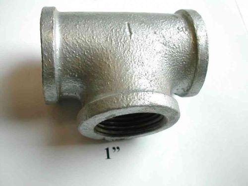 1 Inch BSP Galvanised Iron Tee