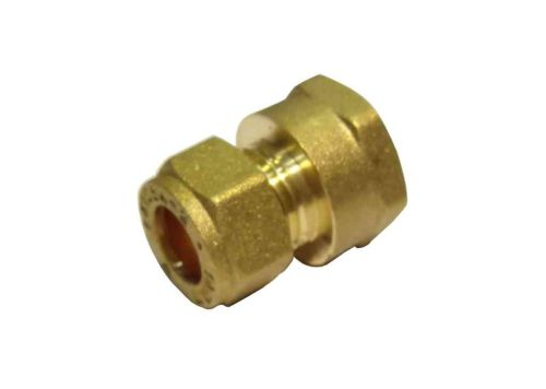 10mm Compression x 3/8 Inch BSP Female Iron Adaptor / Coupler