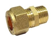 10mm Compression x 1/4 Inch BSP Male Adaptor / Coupler