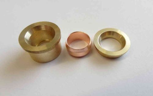 15mm x 10mm Compression Fitting Reducing Set