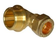 "15mm Compression x 3/4"" BSP Male Elbow"