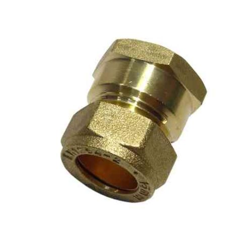 15mm Compression x 1/2 Inch BSP Female Adaptor / Coupler