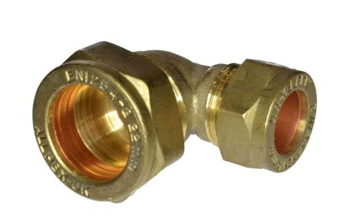 22mm x 15mm Compression Reducing Elbow