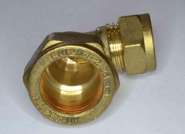 22mm X 15mm Compression Reducing Elbow Stevenson