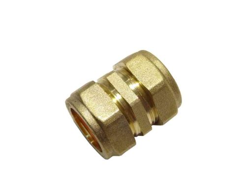 Compression Straight Coupler 22mm
