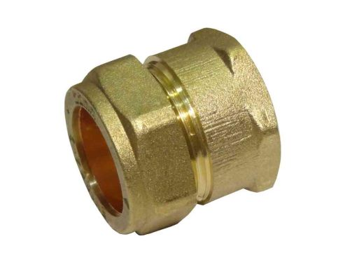 22mm Compression x 3/4 Inch BSP Female Iron Adaptor / Coupler