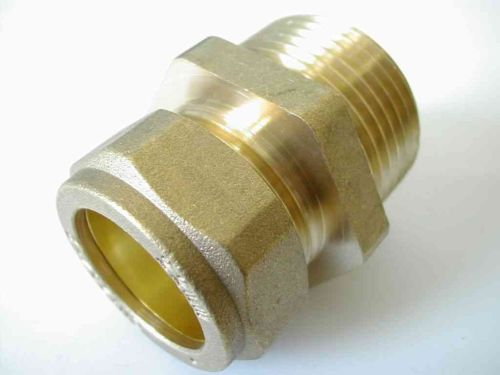 22mm Compression x 1 Inch BSP Male Adaptor / Coupler
