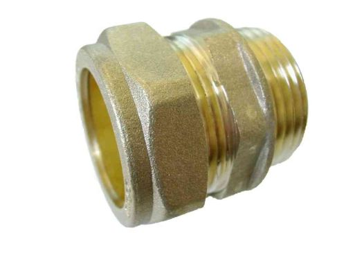 28mm Compression x 1 Inch BSP Male Iron Adaptor / Coupler