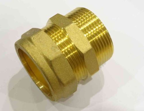 42mm Compression x 1-1/2 Inch BSP Male Adaptor / Coupler