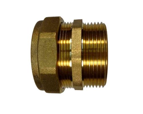 """42mm Compression to 1-1/2"""" BSP Male Iron Adaptor"""