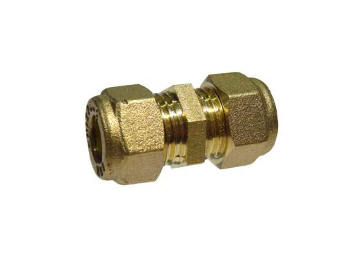 8mm Compression Straight Coupler