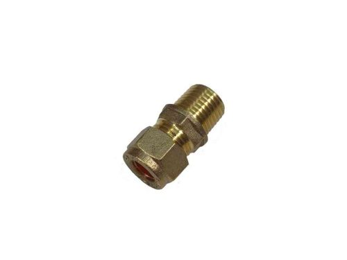 8mm Compression x 1/4 Inch BSP Male Adaptor / Coupler