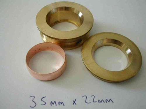 35mm x 22mm Compression Fitting Reducing Set