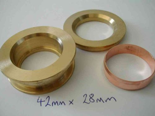 Compression Fitting Reducing Set 42mm x 28mm