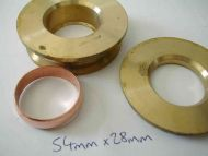 54mm x 28mm Compression Fitting Reducing Set