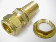 "15mm Compression x 1/2"" BSP Male Adaptor Extra Long"