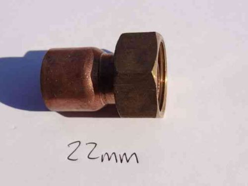 22mm End Feed Tap Connector