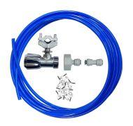 Fridge Plumbing Kit   Self Cutting Valve, Adaptor, 10M Pipe & Pipe Connector