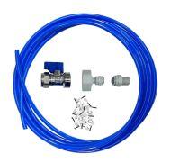 Fridge Plumbing Kit   Valve, Adaptor, 10M Pipe & Fridge Connector