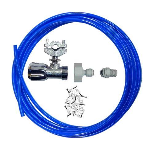 Fridge Plumbing Kit   Self Cutting Valve, Adaptor, 4M Pipe & Fridge Connector