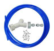 Fridge Plumbing Kit   Y Splitter, Adaptor 4M Pipe & Pipe Connector