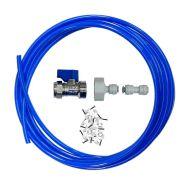 Fridge Plumbing Kit   Valve, Adaptor, 4M Pipe & Pipe Connector