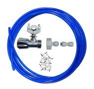 Fridge Plumbing Kit   Self Cutting Valve, Adaptor, 4M Pipe & Pipe Connector
