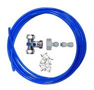 Fridge Plumbing Kit   Tee Valve, Adaptor, 4M Pipe & Pipe Connector