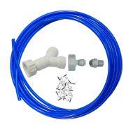 Fridge Plumbing Kit   Y Splitter, Adaptor, 4M Pipe & Fridge Connector