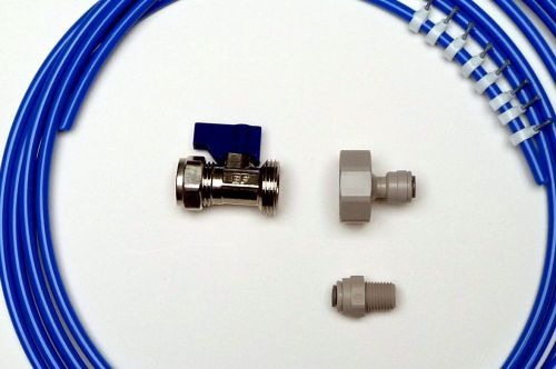 Fridge Plumbing Kit | 4M Pipe, Valve, Adaptor, Fridge connector